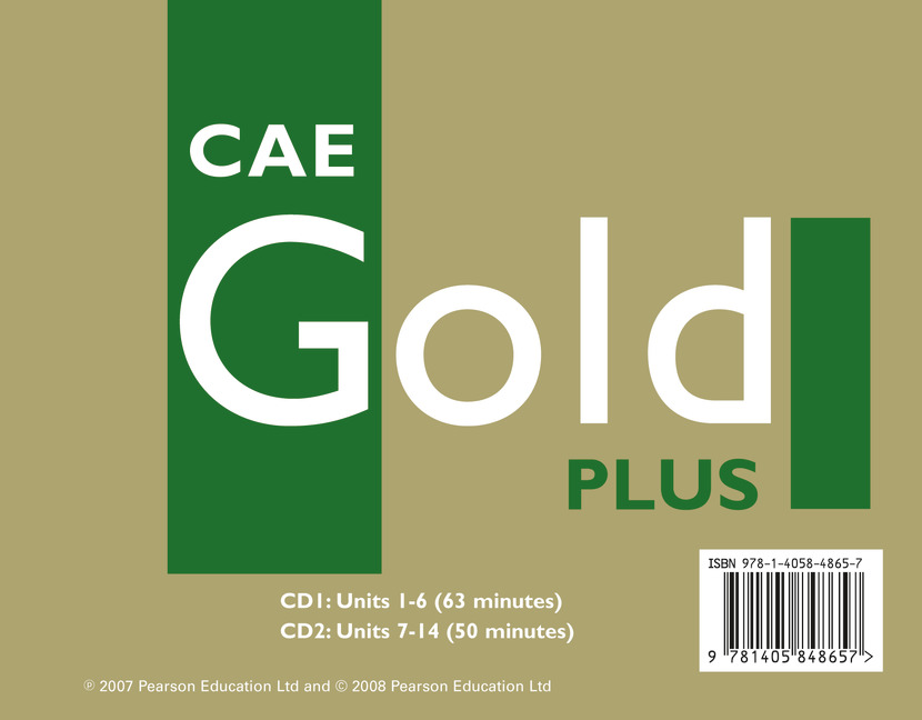 CAE GOLD PLUS CLASS CD 1-2