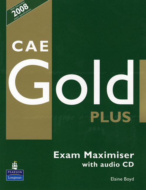 CAE GOLD PLUS MAXIMISER AND CD NO KEY PACK