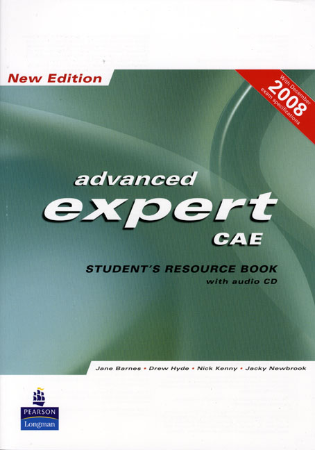 CAE EXPERT NEW EDITION STUDENTS RESOURCE BOOK NO KEY/CD PACK