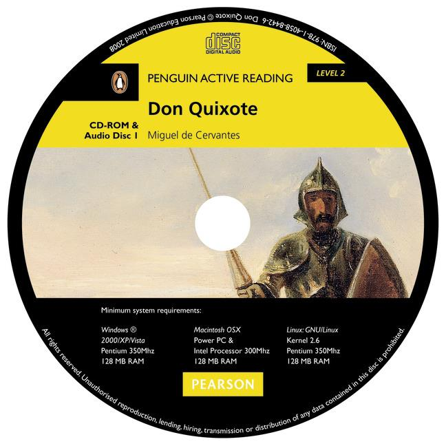 PAR2 - DON QUIXOTE BOOK AND CD-ROM PACK