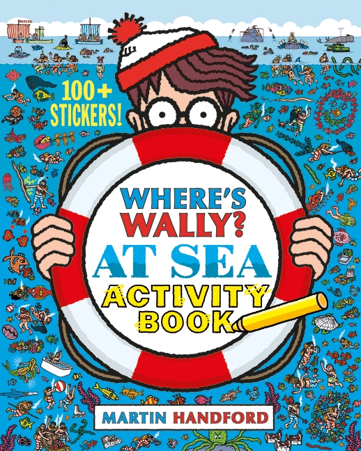WHERE'S WALLY? AT SEA : ACTIVITY BOOK