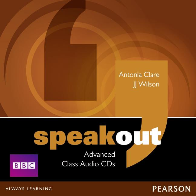 SPEAKOUT ADVANCED CLASS CD (X3)