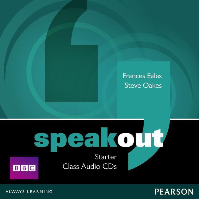 SPEAKOUT STARTER CLASS CD (X3)