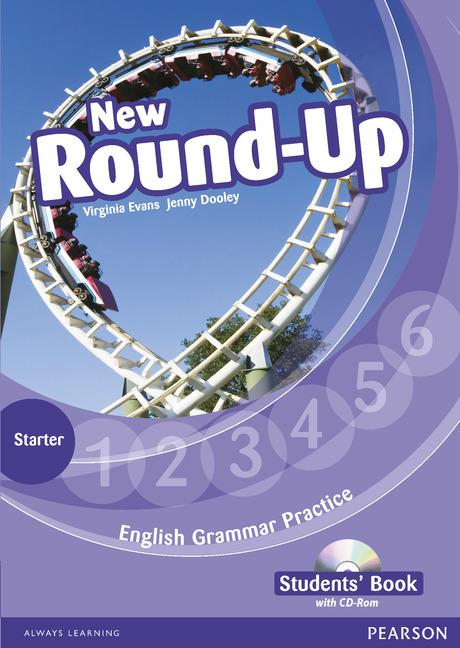 ROUND UP NEW STARTER LEVEL STUDENTS' BOOK/CD-ROM PACK