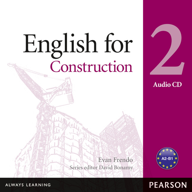 ENGLISH FOR CONSTRUCTION LEVEL 2 AUDIO CD