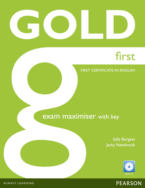 GOLD FIRST MAXIMISER WITH KEY AND AUDIO CD PACK