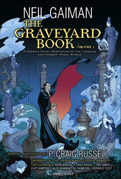 THE GRAVEYARD BOOK (GRAPHIC NOVEL) VOLUME 1