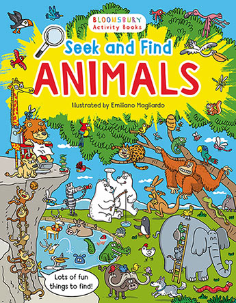 SEEK AND FIND ANIMALS