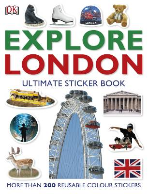 EXPLORE LONDON ( ULTIMATE STICKER BOOK)