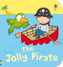 JOLLY PIRATE BATH BOOK