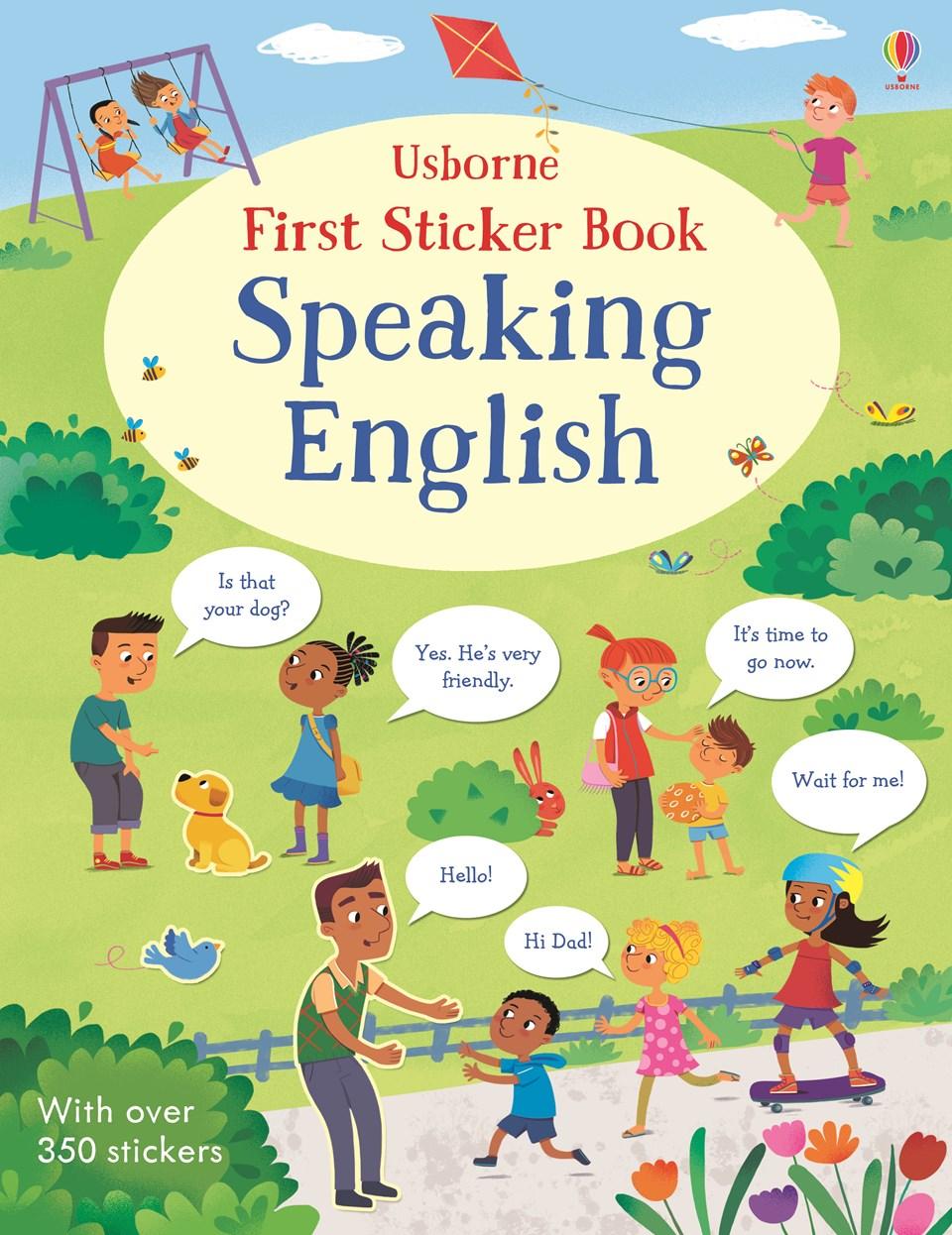 FIRST STICKER BOOK SPEAKING ENGLISH