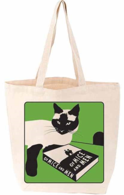 OF MICE AND MEN CAT TOTE BAG
