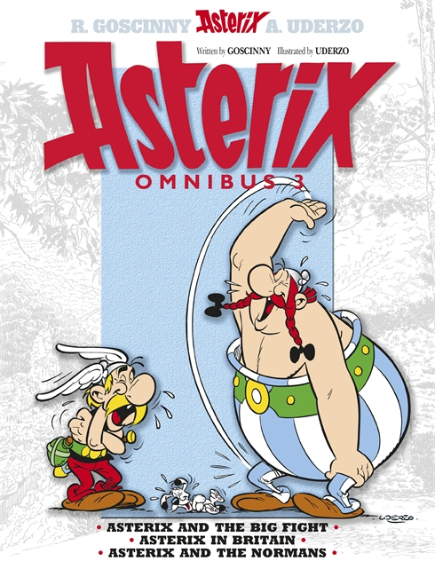 OMNIBUS 3 : ASTERIX AND THE BIG FIGHT, ASTERIX IN BRITAIN, ASTERIX AND THE NORMANS