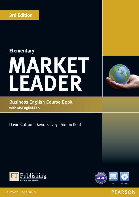 MARKET LEADER 3RD EDITION ELEMENTARY COURSEBOOK WITH DVD-ROM AND MYLAB ACCESS CODE PACK