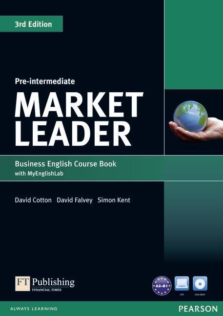 MARKET LEADER 3RD EDITION PRE-INTERMEDIATE COURSEBOOK WITH DVD-ROM AND MYLAB ACCESS CODE PACK