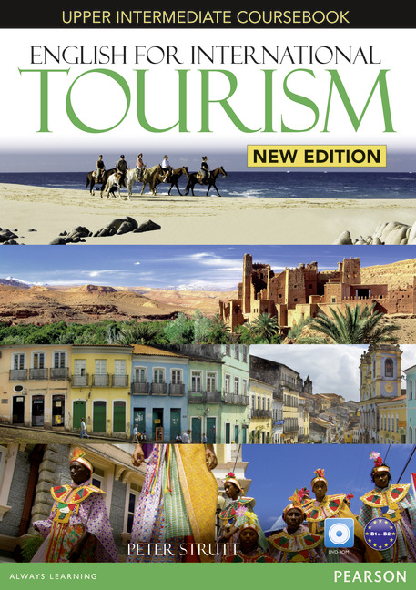 ENGLISH FOR INTERNATIONAL TOURISM UPPER INTERMEDIATE NEW EDITION COURSEBOOK/DVD-R PACK