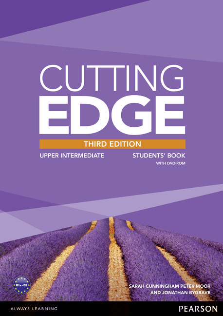 CUTTING EDGE THIRD EDITION UPPER INTERMEDIATE STUDENT'S BOOK/DVD PACK