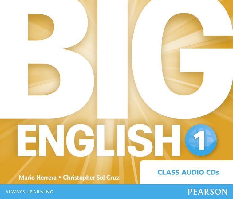 BIG ENGLISH (BRENG) 1 AUDIO CD