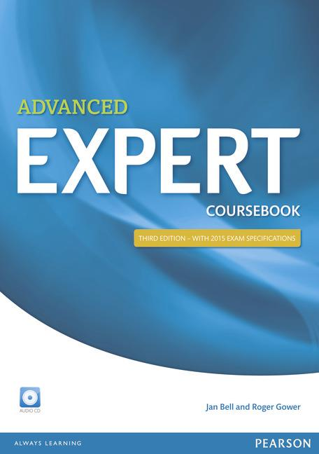 EXPERT ADVANCED COURSEBOOK WITH AUDIO CD