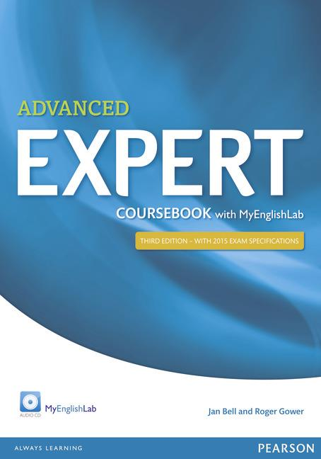 EXPERT ADVANCED COURSEBOOK WITH MYENGLISHLAB