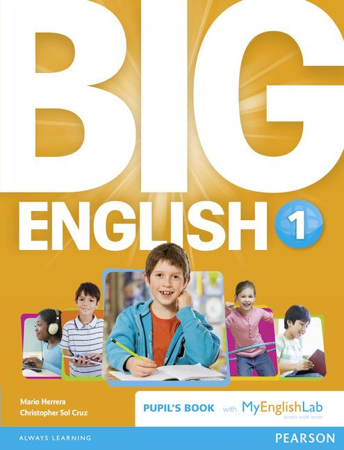 BIG ENGLISH (BRENG) 1 PUPIL'S BOOK W/ MYLAB PACK