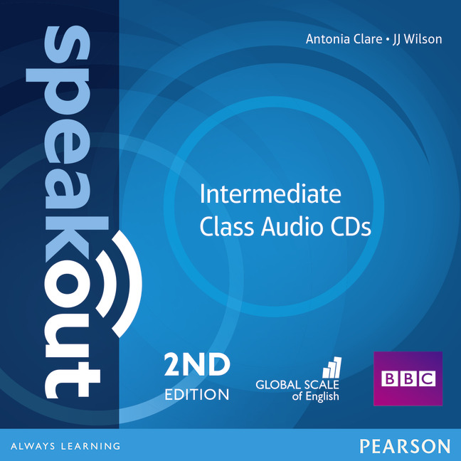 SPEAKOUT 2ND EDITION INTERMEDIATE CLASS AUDIO CDS