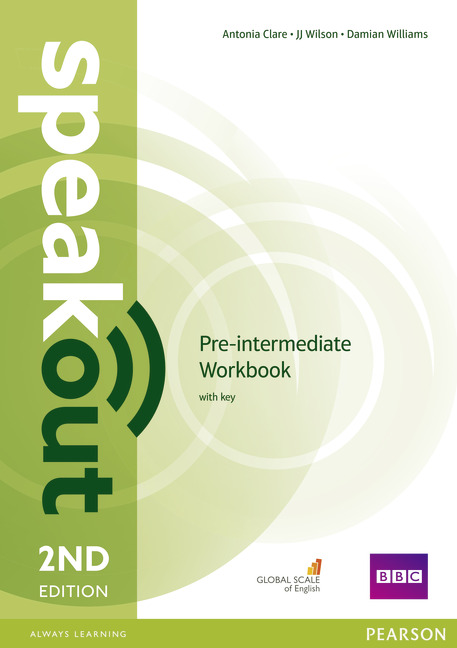 SPEAKOUT 2ND EDITION PRE-INTERMEDIATE WORKBOOK WITH KEY
