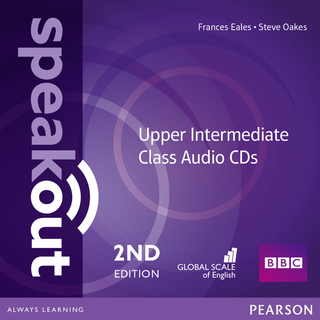 SPEAKOUT 2ND EDITION UPPER INTERMEDIATE CLASS AUDIO CDS