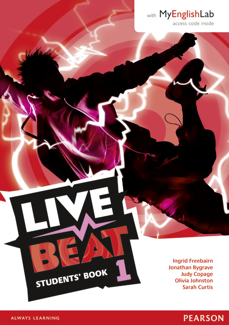 LIVE BEAT 1 STUDENTS' BOOK W/ MYLAB