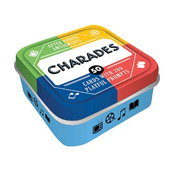 CHARADES : 50 CARDS WITH 200 PLAYFUL PROMPTS