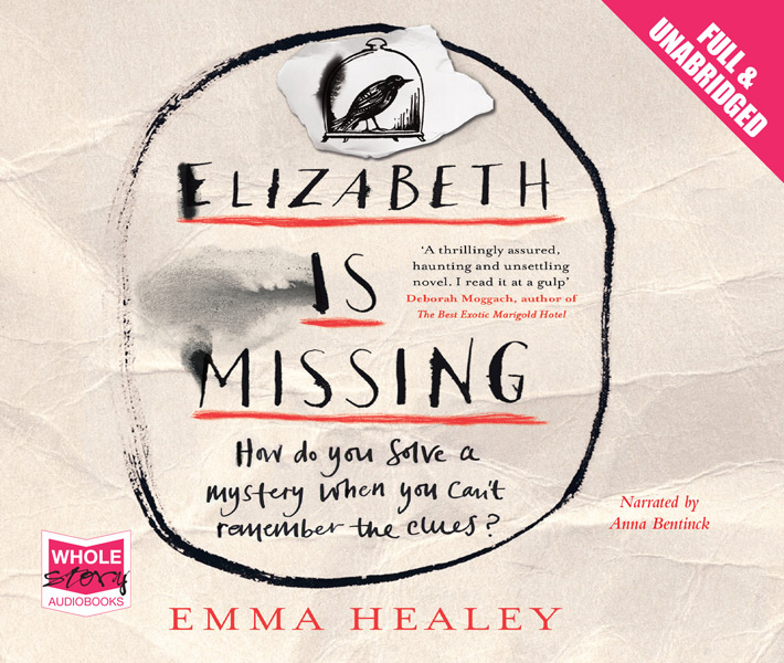 AUDIOBOOK - ELIZABETH IS MISSING