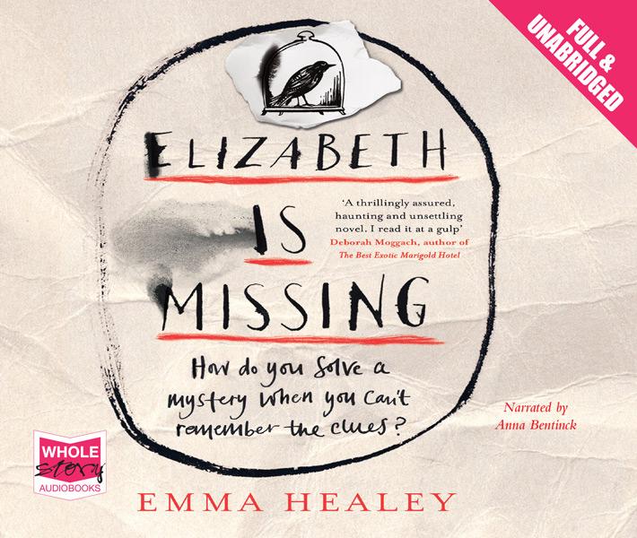 AUDIOBOOK - ELIZABETH IS MISSING