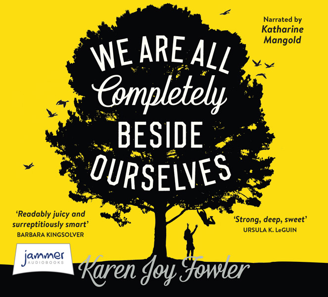 AUDIOBOOK - WE ARE ALL COMPLETELY BESIDE OURSELVES