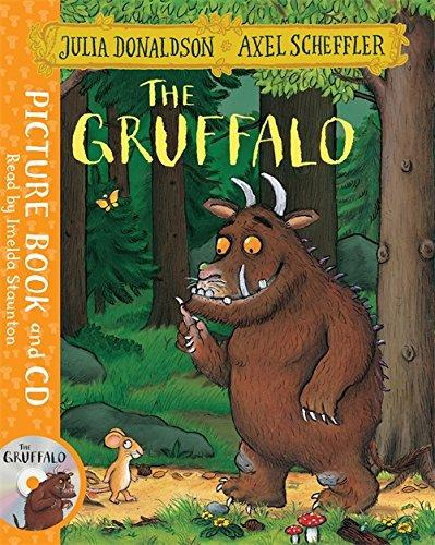 GRUFFALO, THE & AUDIO CD