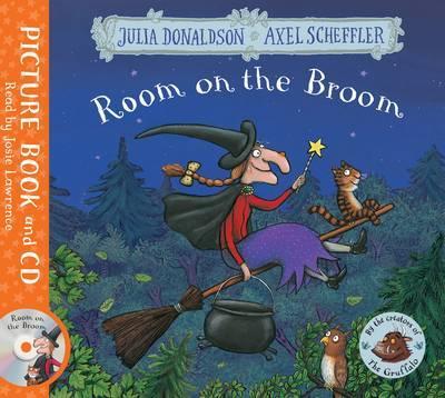 ROOM ON THE BROOM & AUDIO CD