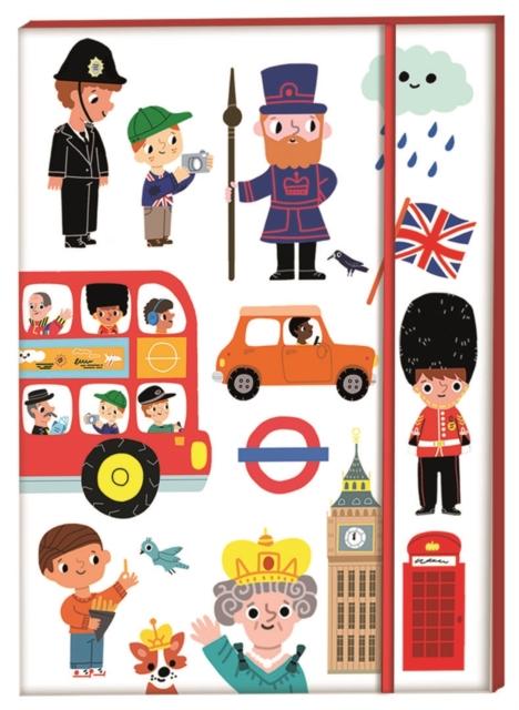 LONDON NOTEBOOK A5 : LONDON LANDMARKS