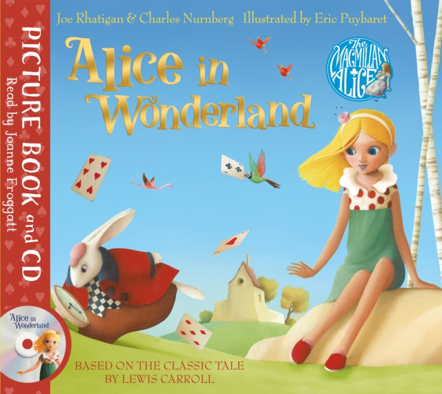 ALICE IN WONDERLAND : BOOK AND CD PACK