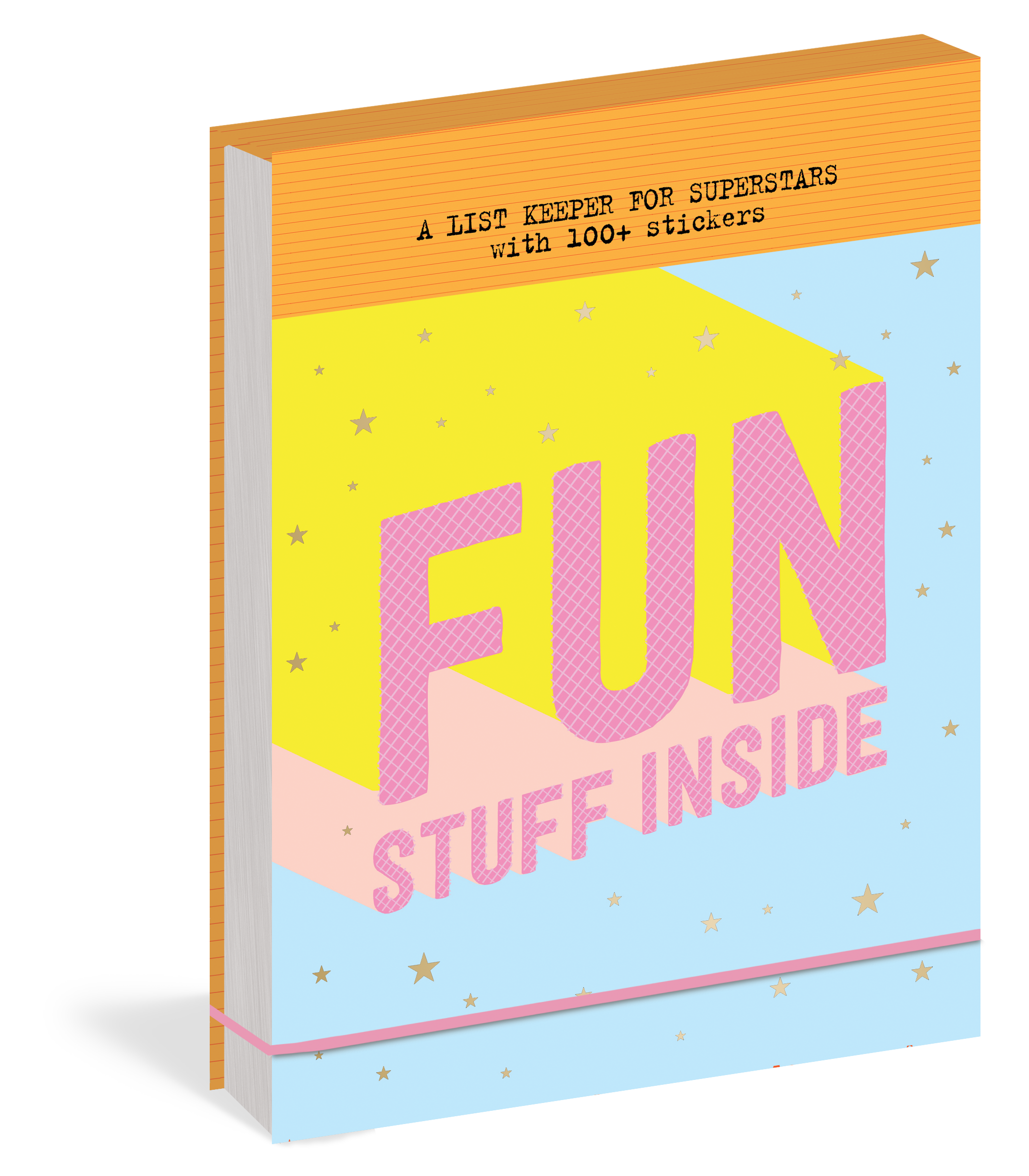 FUN STUFF INSIDE : A LIST KEEPER FOR SUPERSTARS
