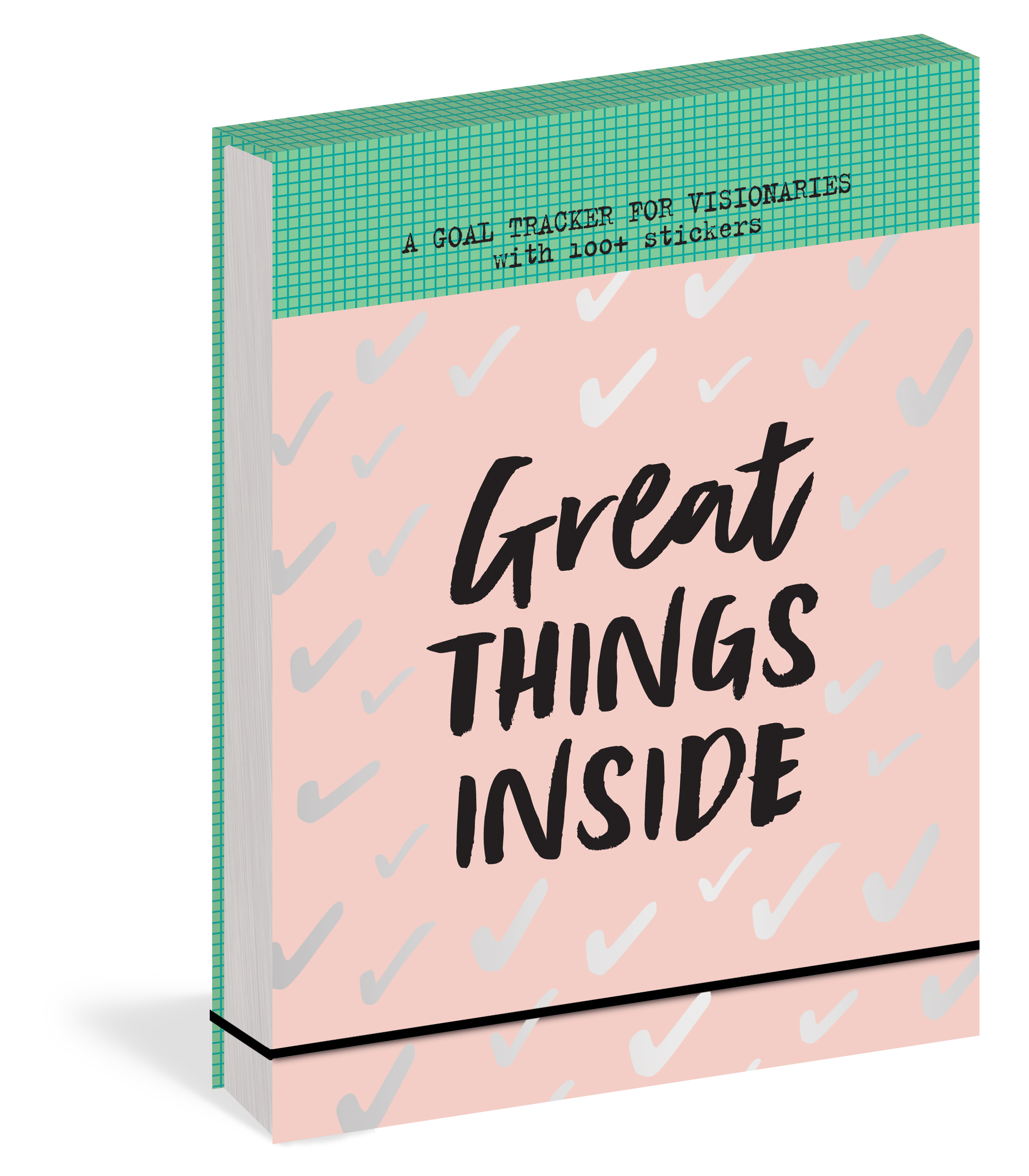 GREAT THINGS INSIDE : A GOAL TRACKER FOR VISIONARIES