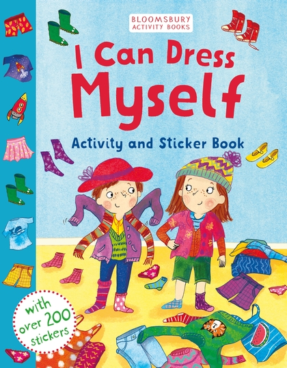 I CAN DRESS MYSELF : ACTIVITY AND STICKER BOOK