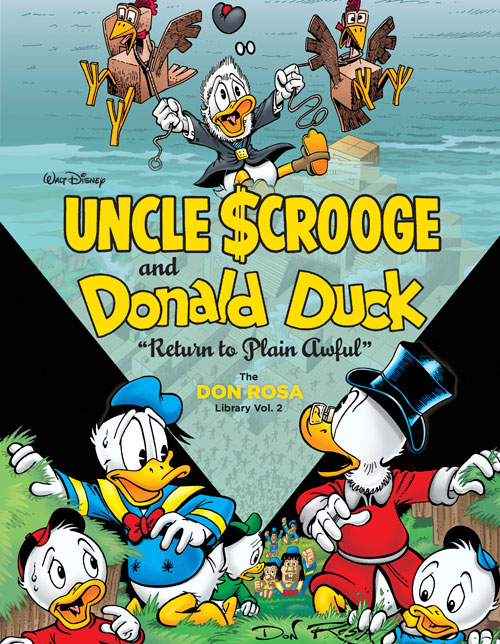 """UNCLE SCROOGE AND DONALD DUCK: """"RETURN TO PLAIN AWFUL"""""""