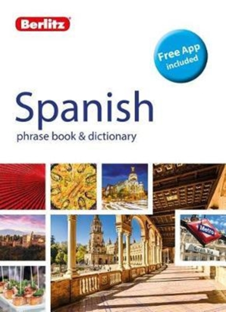 BERLITZ SPANISH  PHRASE BOOK & DICTIONARY