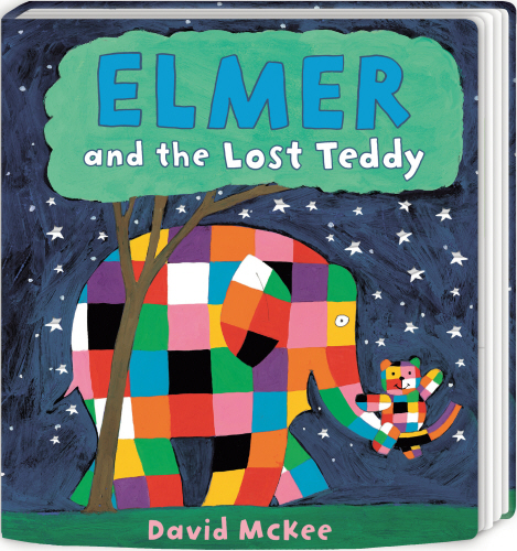 ELMER AND THE LOST TEDDY : BOARD BOOK