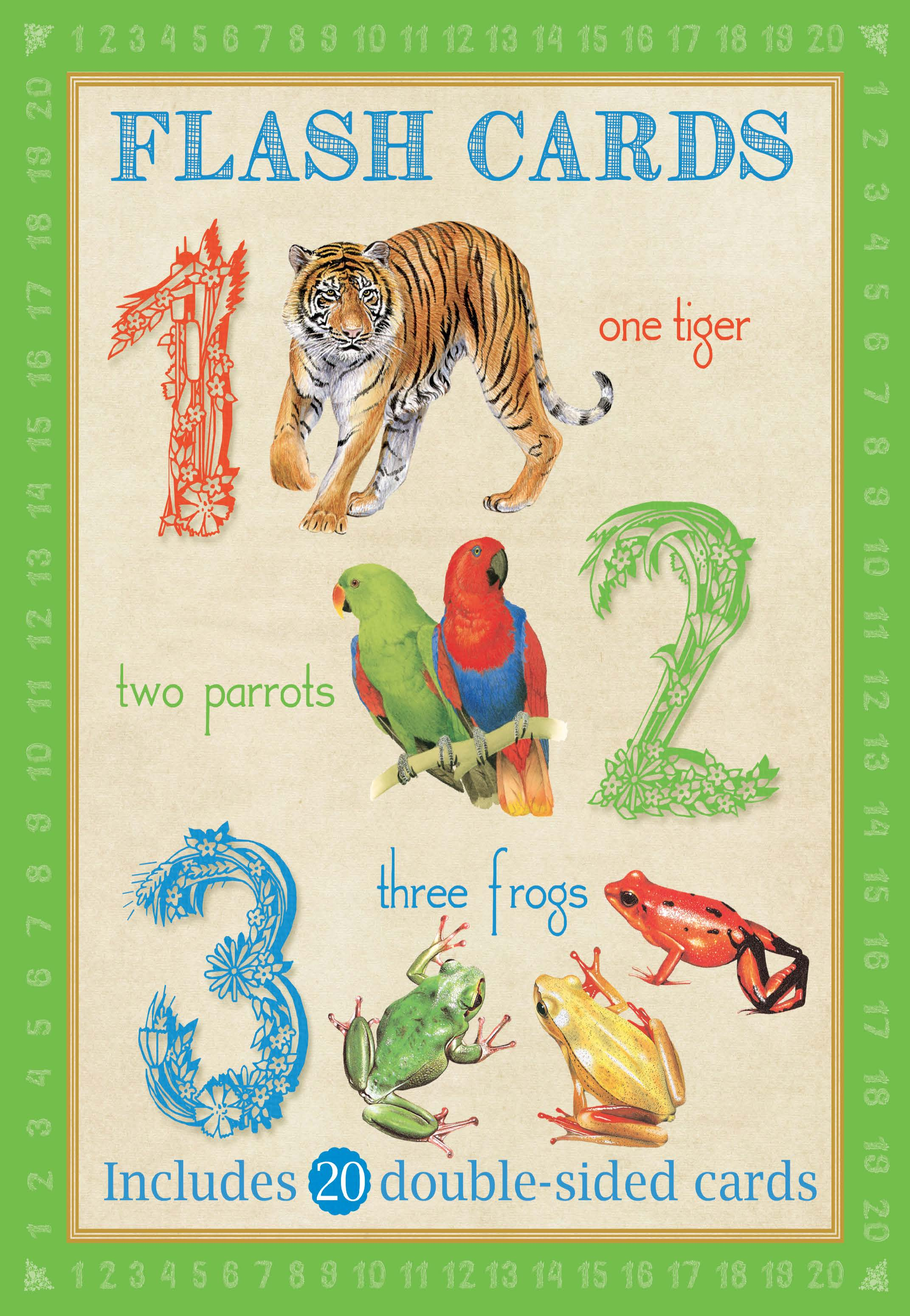 ANIMAL FLASHCARDS: 123