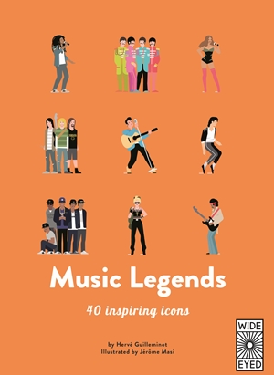 MUSIC LEGENDS : MEET 40 POP AND ROCK STARS