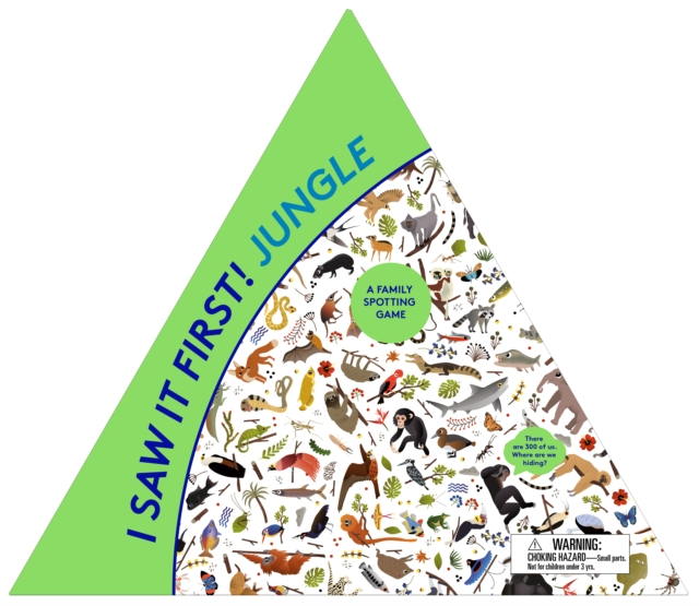 I SAW IT FIRST! JUNGLE : A FAMILY SPOTTING GAME