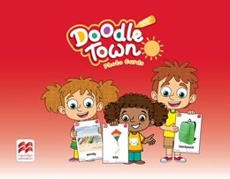 DOODLE TOWN NURSERY LEVEL PHOTO CARDS
