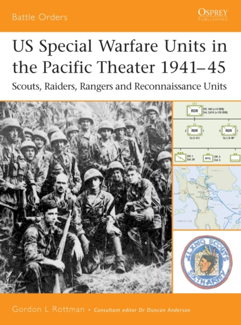 US SPECIAL WARFARE UNITS IN THE PACIFIC THEATER, 1941-45 : NO.12