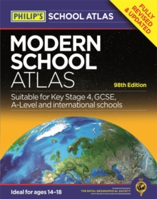 PHILIP'S MODERN SCHOOL ATLAS : 98TH EDITION