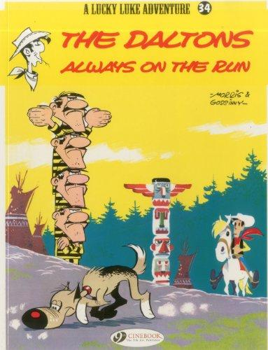 DALTONS ALWAYS ON THE RUN, THE (LUCKY LUKE #34)